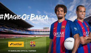 Betfair   Magic of Barca