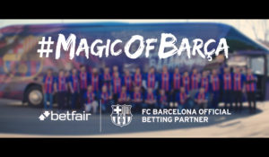 Betfair | Magic of Barca