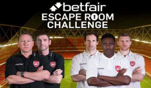 Betfair   Escape Room Challenge