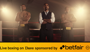 Live boxing on Dave