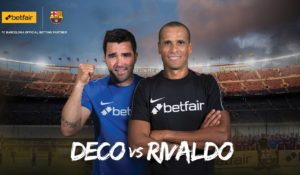 Deco vs Rivaldo